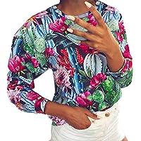 Hanomes Damen pullover, Damen Herbst Langarm-Druck-T-Shirt Damen Casual Tops Bluse Sweatshirt preisvergleich bei billige-tabletten.eu