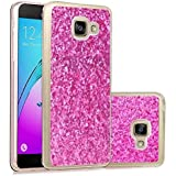 Samsung Galaxy A3 2016 Coque, Valenth Glitter Coque Bling Sparkly Slim Protective Soft Coque Cover pour Samsung Galaxy A310 / A3 2016