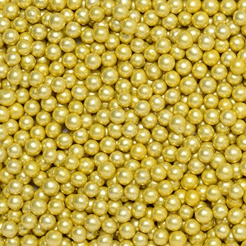 Club Green confetti di palline, oro metallizzato, 6mm