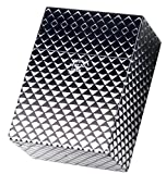 3 x Zigarettenbox schwarz/weiss 30 Zigaretten Etui XXL - Zigarettenboxen ohne Schockbilder