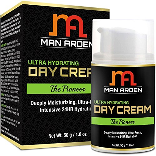 Man Arden Ultra Hydrating Day Face Cream - The Pioneer 50gm - With Skin Fairness