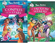 Thea Stilton And The Treasure Seekers #2: The Compass Of The Stars+Thea Stilton and the Treasure Seekers #01: