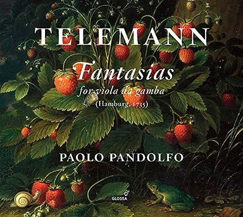 Fantasias for Viola Da Gamba [Import allemand]