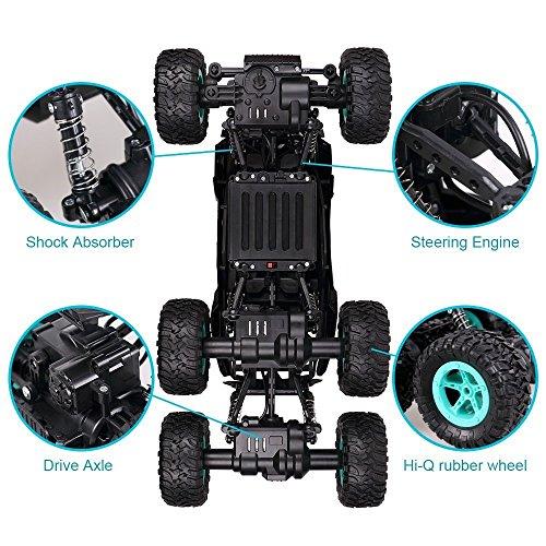RC Auto, 1:14 RC Ferngesteuertes Auto Remote Control Car Rock Crawler 6WD Elektrische Hoher Geschwindigkeit Monster Truck RC Buggy/Off Road Fahrzeug - 6