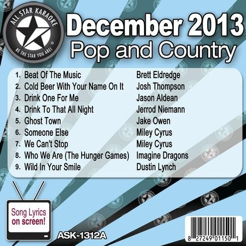 All Star Karaoke Pop and Country Series (ASK-1312A) by Brett Eldredge
