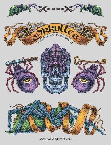 Okkultes Malbuch für Erwachsene 2