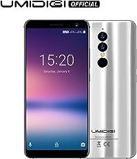 UMIDIGI A1 Pro, Smartphone Dual 4G VoLTE, 5.5 Pollici 18: 9 Schermo Intero Android 8.1, Face Unlock, 3 GB + 16 GB,13MP + 5MP Telecamera a Doppia Lente ad alta Risoluzione, Type-C-Argento