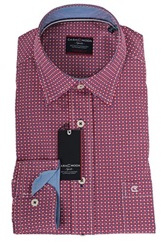 CASAMODA - Chemise business - À Pois - Homme Rouge