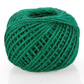 RUNGAO 50M DIY Color String Hemp Rope Photo Wall Making Twine Thread String Cord Shank Green