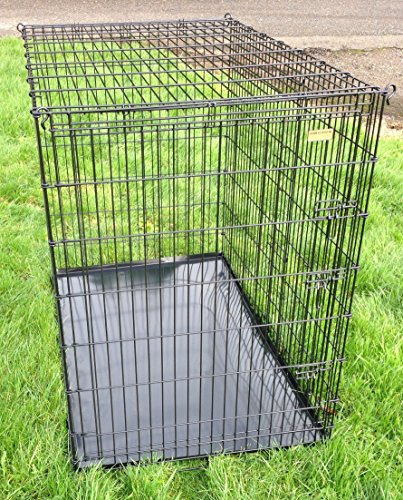 Extra high GIANT dog cage 54 Black