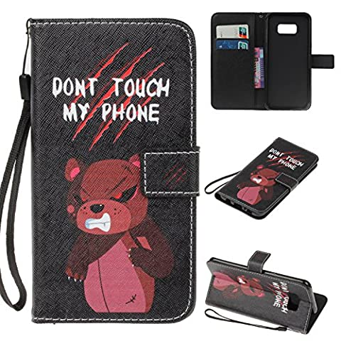 JGNTJLS Case For Samsung Galaxy A5(2017)/A520, [New Original Painting Series for SS/AW] Fashion, Casual, Stylish, Simple, Portable, Cross-Embossing(Multicolor, Wrinkle-Design), Artificial Leather-Shell(Environmental, Non-Animal Fur, Not Real Leather), Internal-TPU(Soft and Smooth) [With Small Black Lanyard Strap] Multifunctional Wallet Card Slot Smart Stand Flip Cover Ultra Slim Protective Folder Case Perfectly Fit For Samsung Galaxy A5(2017)/A520 [5.2