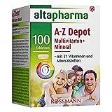 altapharma A-Z Depot Multivitamin + Mineral Tabletten 138 g, 100 Tabletten (1er Pack)