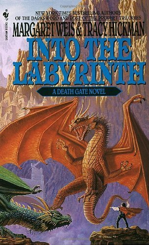 Deathgate 6: into the Labyrinth (Death Gate Cycle) by Weis, M., Hickman, Tracy (1994) Mass Market Paperback