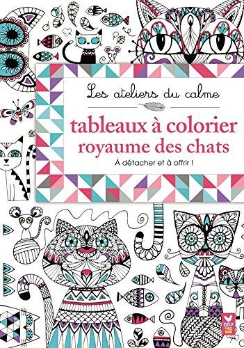 Tableaux à colorier royaume des chats