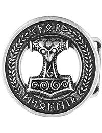 etNox hard and heavy Martillo de Thor Hebillas cinturón