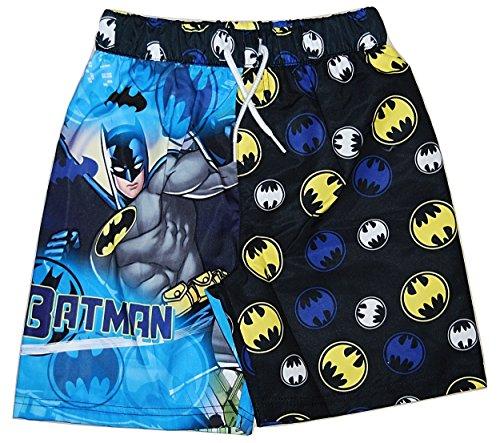 DC Comics - Short de bain - Garçon bleu Blue / Yellow / Multicoloured