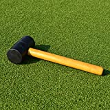 Football Net Peg Mallet (16oz) (Also ideal for camping) - knock your nets into shape however hard the ground is [Net World Sports]