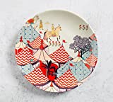 India Circus Medieval Times 8 inch Wall Plate and Snacks Platter