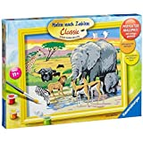 Ravensburger 28403 Painting by Numbers 30 x 24 cm Animals in Africa by Ravensburger