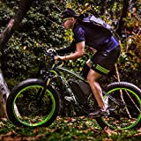 Rich Bit® RT-012 1000 W E-Bike eBike Cruiser Fahrrad Radfahren 48 V 12 Ah hohe Kapazität Akku 21speed 7 Gänge Federgabel Doppel Mechanische Bremse, 4.0 Fat Tire Snow Bike Shimano Umwerfer Lange dauert, New Fashion Malerei Vergleich
