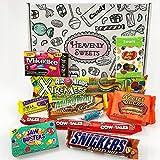 Kleiner Geschenkkorb mit amerikanischen Süßigkeiten