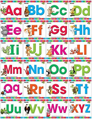 Alphabet Animal Friends Lap Book, Single-Copy Set (24 books) - Lap-set