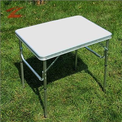 DXP 75cm Aluminium Campingtisch Klapptisch Tisch Falttisch,Gartentisch klappbar AFW-01