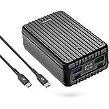 Zendure SuperTank Powerbank med 27 000 mAh (kross säker, 4-portars snabbladdning 3.0, 100 W strömförsörjning för iPhone, MacB