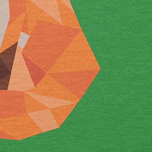 TEXLAB - Polygon Fuchs - Herren T-Shirt Grün