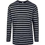 Urban Classics Regular Stripe LS T-Shirt Uomo