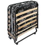 ROLLER Komfort-Gästebett Paso - schwarz-weiß - 80x190 cm für ROLLER Komfort-Gästebett Paso - schwarz-weiß - 80x190 cm