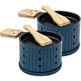 COOKUT - Lumi - Une raclette à la Bougie - Faites Fondre Votre Fromage en 3 Minutes - A Table, Devant la télé ou même en Piqu