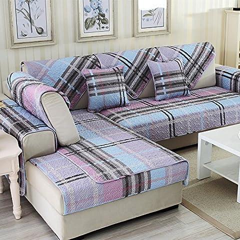New day-Antiscivolo quattro stagioni cuscino del divano in tessuto semplice