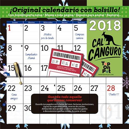 Calendario cal canguro 2018