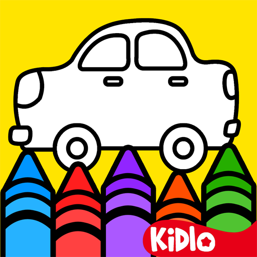 Kidlo Colouring Games for Kids and Drawing Book for Toddlers