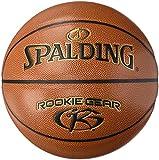 Spalding NBA Rookie Gear Ball Basketball, orange, 5
