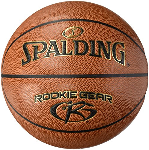 Spalding Uni JR. NBA/Rookie Gear I/O SZ.5 (74 – 944z) Basketball, Arancione, 5.0