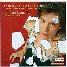 Vocal Recital: Kammer Salome by Vocal Recital (2006-01-01)