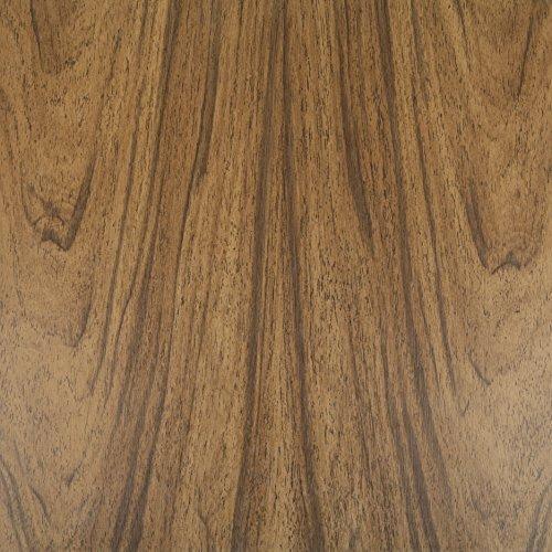 Klebefolie Perfect Fix® Eiche Dunkel Dekofolie Möbelfolie Tapeten selbstklebende Folie, PVC, ohne Phthalate, keine Luftblasen, Natur-Holzoptik braun, 45cm x 2m, Stärke: 0,15 mm, Venilia 53332