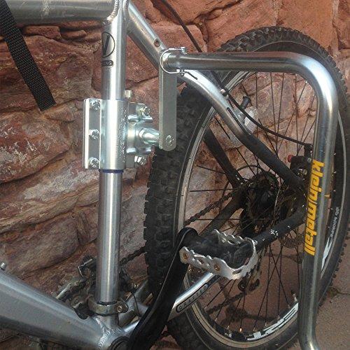 Abstandshalter / Verlängerung für Kleinmetall DOGRUNNER Fahrradhalter für den Hund