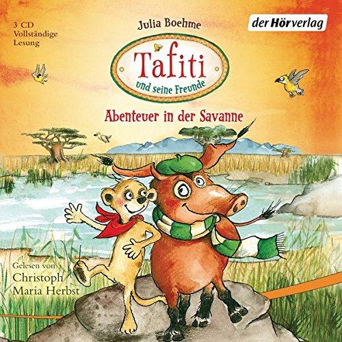 Tafiti und seine Freunde. Abenteuer in der Savanne: Drei Hörbücher: Tafiti und die Reise ans Ende der Welt - Tafiti und das fliegende Pinselohrschwein - Tafiti und das Riesenbaby