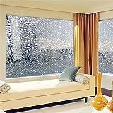 chinatera film de verre 40 x 200 cm d poli d coratif auto adh sive pour fen tre de salle de bain. Black Bedroom Furniture Sets. Home Design Ideas