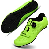 Cycling Shoes for Men Women Luminous Road Cycling Riding Shoes Peloton Shoes Breathable Cleat Compatible SPD Look Delta Indoo