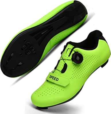 Cycling Shoes for Men Women Luminous Road Cycling Riding Shoes Peloton Shoes Breathable Cleat Compatible SPD Look Delta Indoor Cycling Shoes
