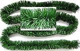 Festgirlande Grün feine Fransen 3,5m D10cm Fransengirlande wetterfest kaufen