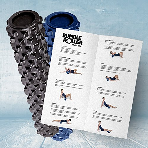 RumbleRoller-Textured-Muscle-Foam-Roller-31-Inches-Extra-Firm-Full-Size-Black