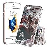JKFO Coque iPhone SE et iPhone 5S et iPhone 5 Case Housse Etui Shock-Absorption...