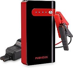 Avviatore Batteria Auto 10000mAh 500A 12V Avvio Emergenza Batteria per Motori a Benzina Fino a 2.5L. PowerBank per Ricarica USB, Torcia LED per Segnalazione Pericolo Soccorso