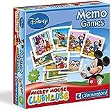 Clementoni - 11757-Memo Game -Mickey-Jeu éducatif