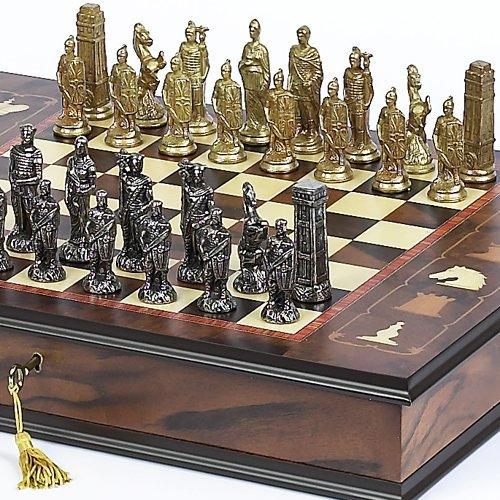 Bello Games Collezioni - Lorenzini Chessmen & Napoli Chess Board/Case from Italy